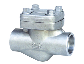Forged Steel SW-NPT Piston Check Valve
