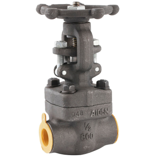 Forged Steel SW-NPT Gate Valve